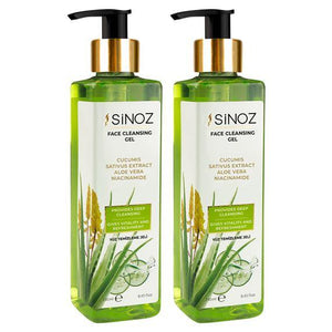 Sinoz Facial Cleansing Gel - Lujain Beauty