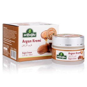 Organic Argan Oil Cream 50ml - Lujain Beauty