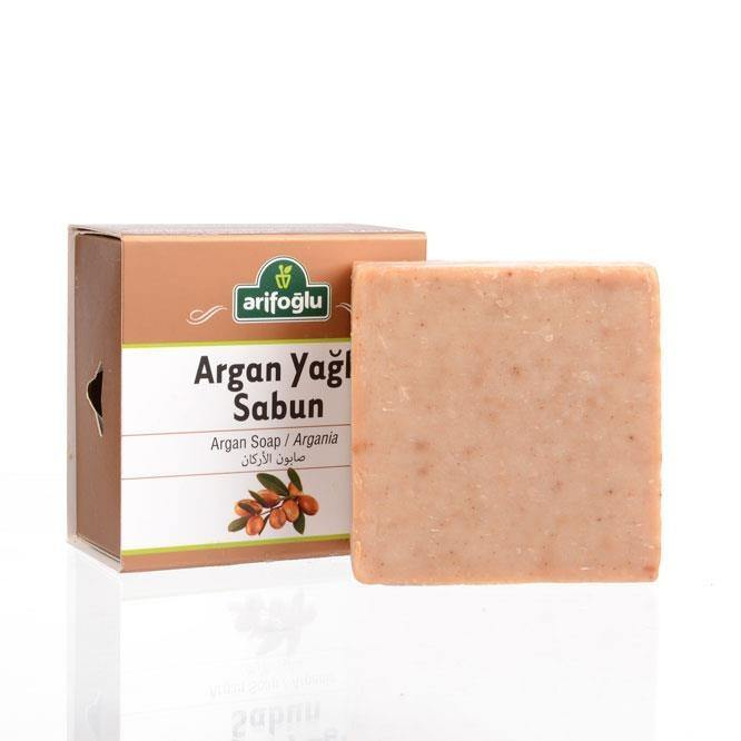 Argan Soap 125 gr - Lujain Beauty