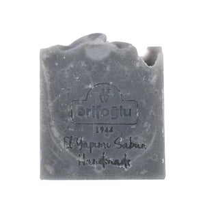 Activated Carbon Charcoal Soap 100g Handmade - Lujain Beauty