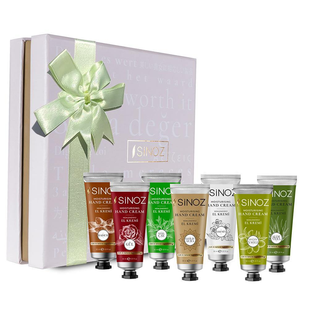 Sinoz Exotic Scented Moisturizing Hand Cream Set - Lujain Beauty