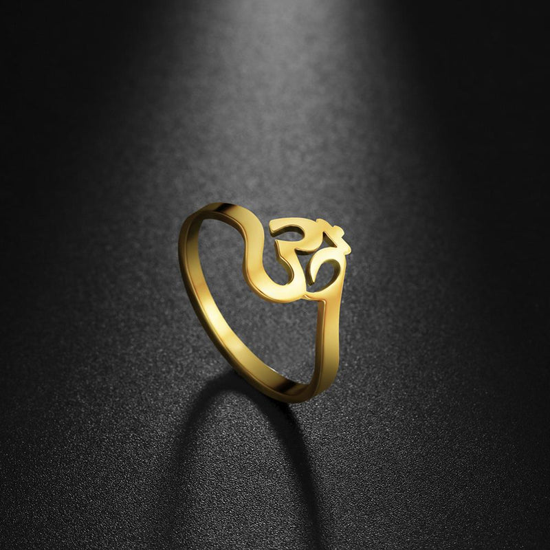 Om Supernatural Chant Ganesha's Temple Ring