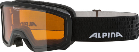 Alpina - SCARABEO JR. black DH - Junior - Kinder Skibrille