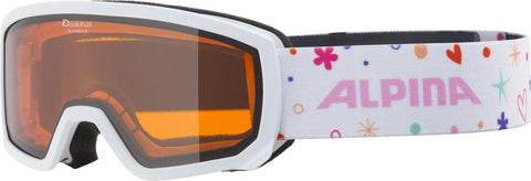 Alpina - SCARABEO JR. white-rose DH - Junior - Kinder Skibrille