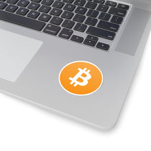 Load image into Gallery viewer, Bitcoin Logo Vinyl Sticker