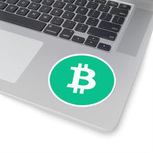 Load image into Gallery viewer, Bitcoin Cash Logo Vinyl Sticker