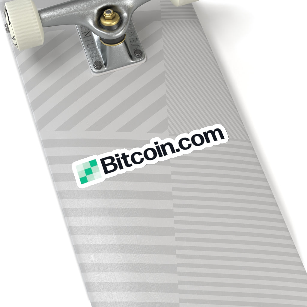 Bitcoin.com Logo Vinyl Sticker