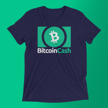 Load image into Gallery viewer, Bitcoin Cash Logo Tee (Dark)
