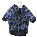 Luxury Sequin Leopard Pattern Jacket For Small Dog or Puppy