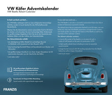 Load image into Gallery viewer, VW Beetle Advent Calendar