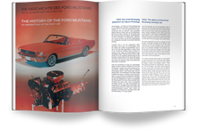 Load image into Gallery viewer, 1965 Ford Mustang V8 Model Engine Kit With Collector's Handbook