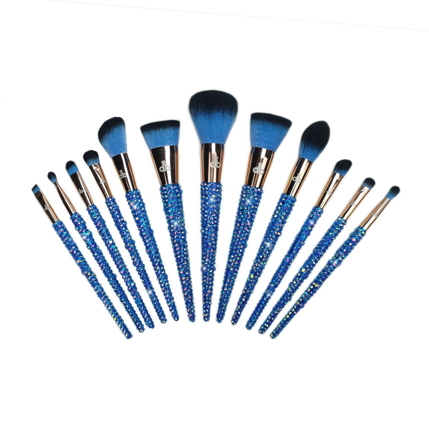 12 – Piece Drip Bay (Sapphire) Full Set - Drip Bay Brushes