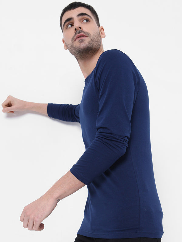 Solid Stretch - Navy Blue