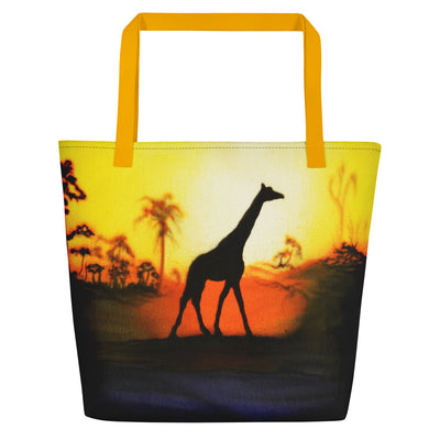 Giraffe Beach Bag