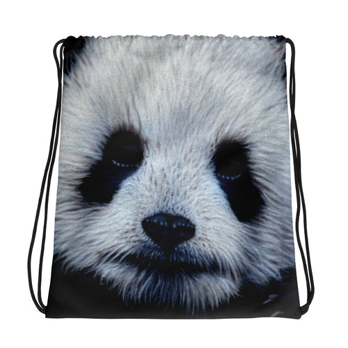 Panda Bear Drawstring Bag Cute Panda Backpack