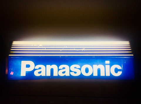 Advertising Panasonic shop display