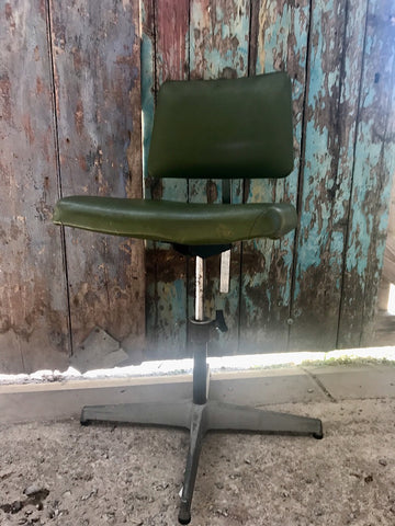 Vintage Evertaut style Industrial Workshop office Chair