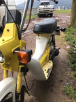 Classic 1980s Honda Caren 50cc Moped Scooter