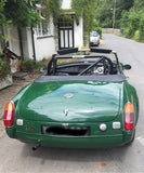Classic 1977 MGB Sebring soft top sports car