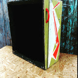 Unusual vintage pinball machine upcycled drinks cabinet