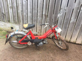 Vintage Puch Maxi 50cc moped scooter barn find running