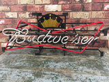 Classic collectible neon Budweiser advertising light man cave