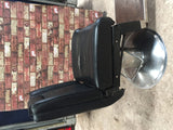 Vintage 60s barbers hairdressers chair man cave gamer movie chair