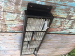 Industrial salvaged 50 drawer workshop storage cabinet drawers curio