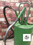 vintage industrial 1950s castrol green oil grease dispenser classic car