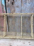 Metal wire storage pigeon hole letter rack tray