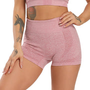 Squat-proof High Waist Seamless Yoga Shorts