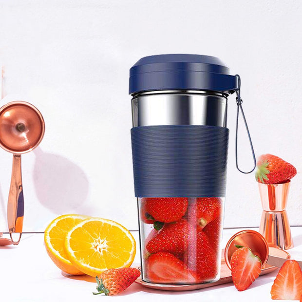 Electric Handheld Fruit Juicer