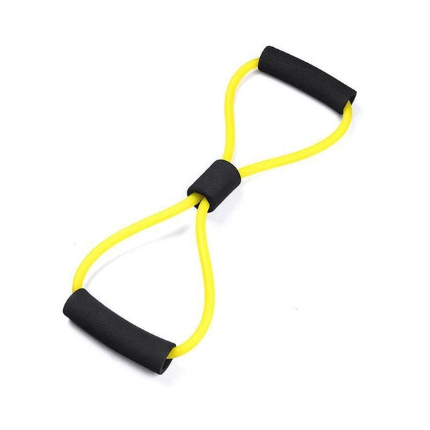 Rubber Elastic Resistance Bands Chest Expander