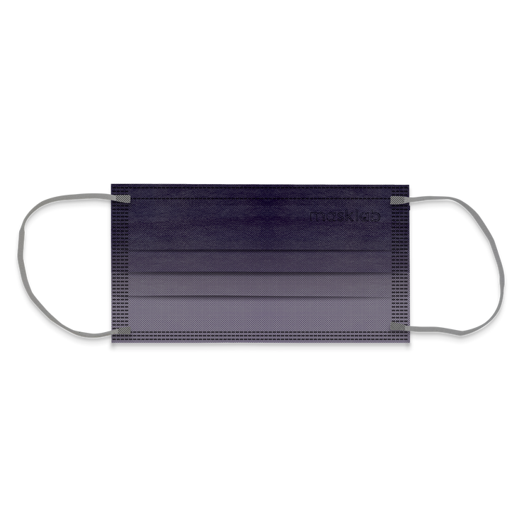 Blackcurrant Ombré Adult 3-ply Surgical Mask 2.0