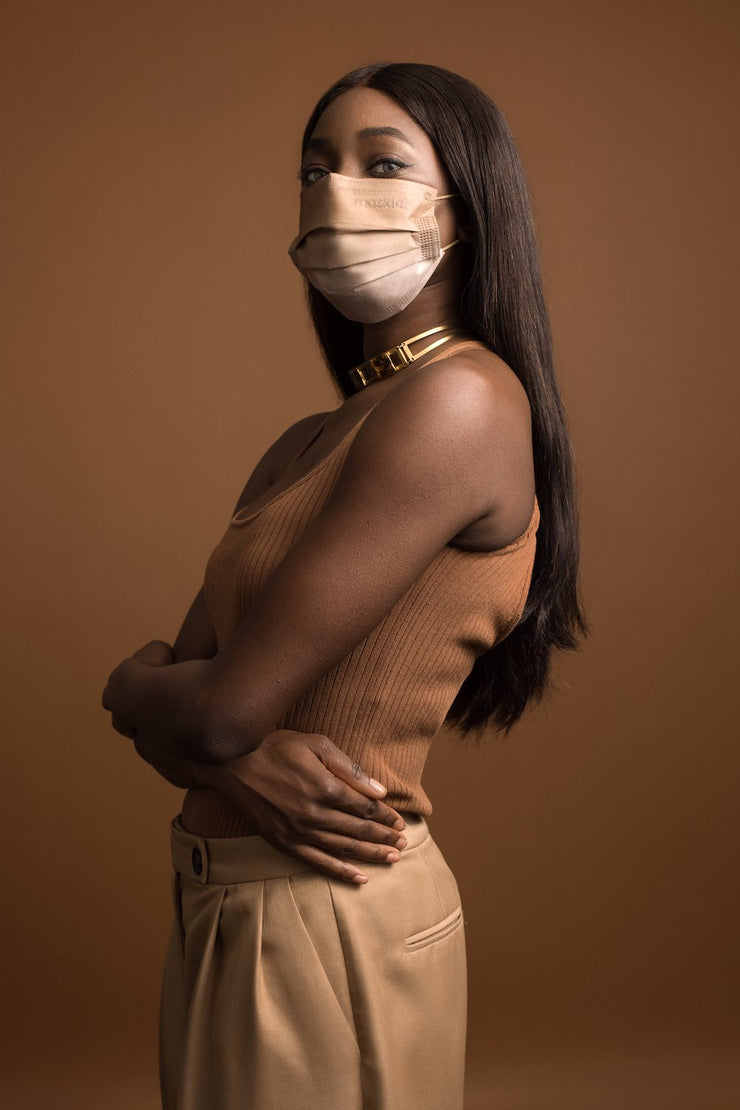 Walnut Ombré Adult 3-ply Surgical Mask 2.0
