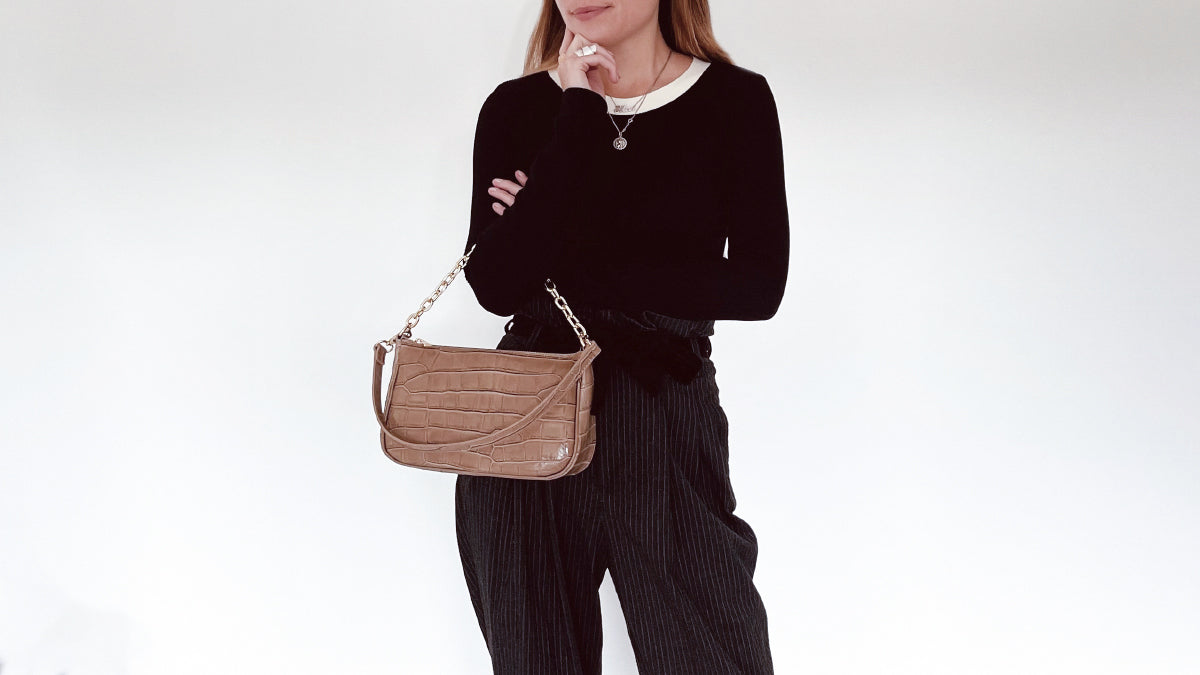 The Nelly Baguette Bag