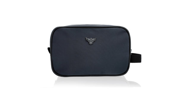 Sports Wash Bag - Navy Letters