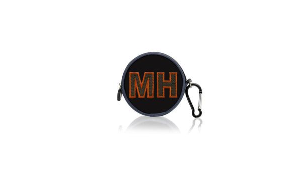 Sports Mouth Guard Case - Orange Letters