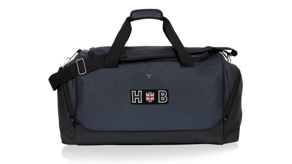 Sports Kit Bag - Navy Letters