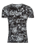Y&R Men Freiheit Freedom Liberty T-Shirt - Black