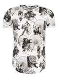 Y&R Men Big Wheel Bicycle T-Shirt - White