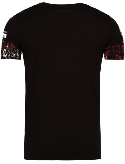 """The Skull""  Graphic T-Shirt - Black - FASH STOP"