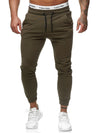 Doms Sweatpants Joggers - Army Green X0009C - FASH STOP