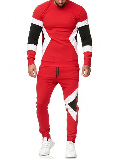 Sizag TrackSuit Sweatpant Sweater - Red X0020C