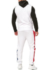 Zoum TrackSuit Sweatpant Hoodie Sweater Jacket - Black X0027A