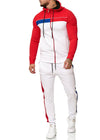 Zoum TrackSuit Sweatpant Hoodie Sweater Jacket - Red X0027B