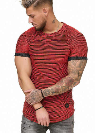 Grit T-Shirt - Red X0040B