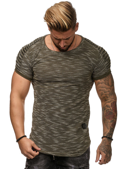 Saka T-Shirt - Army Green X0045B