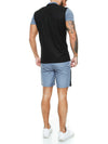 Trikut Polo Shirt + Short  Ensemble - Gray Black X0049A