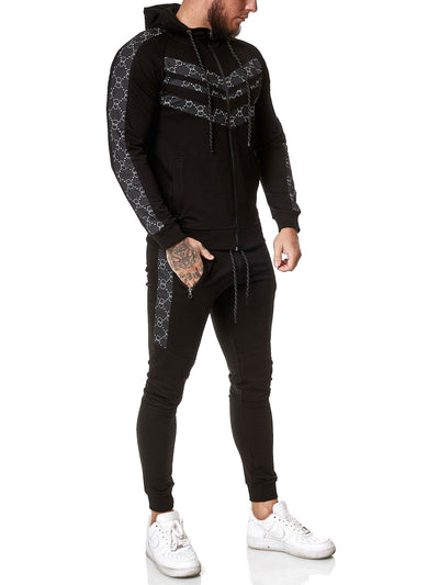 Gusto TrackSuit - Black  X0050A